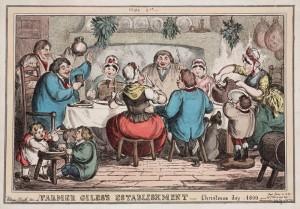 navidad en 1800